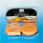 thumb_pic_a: CARSYSTEM Polierschwamm Finish Foam orange  85 x 25 mm 2 Stück 153.088 153.088