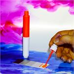 thumb_pic_d: QLS 2 in 1 Lackstift 10 ml  Glanz RAL 4011 Perlviolett M. 1K Acryl *QLSN4011S QLSN4011G