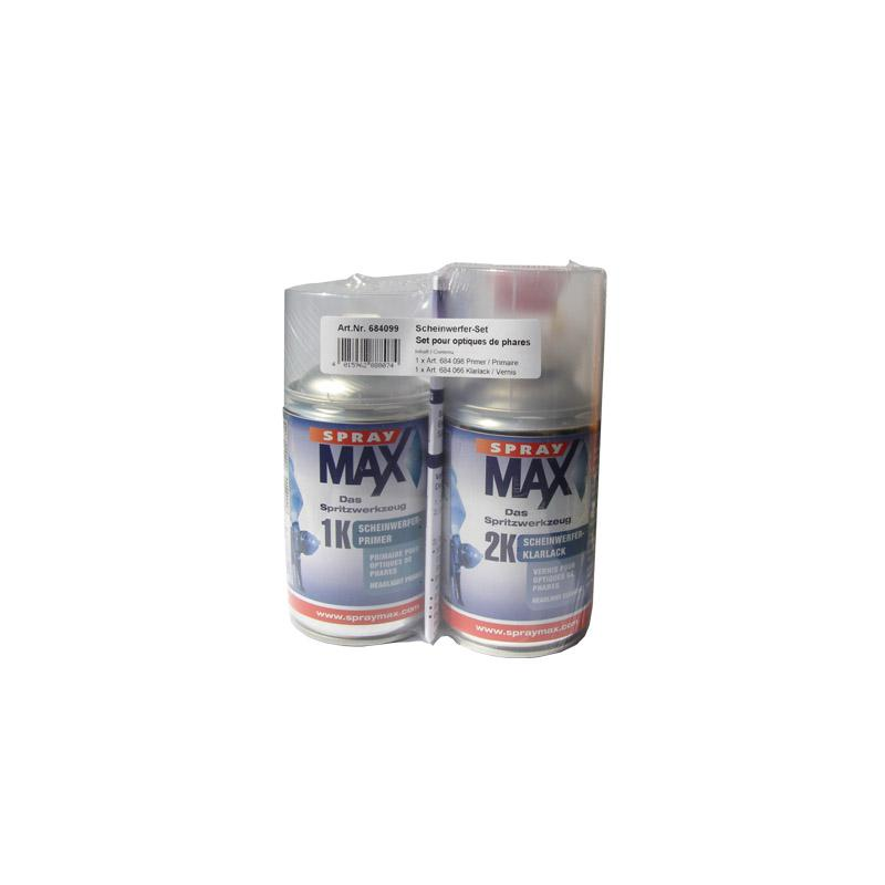 spraymax scheinwerfer reparatur set 250 ml 1k primer. Black Bedroom Furniture Sets. Home Design Ideas