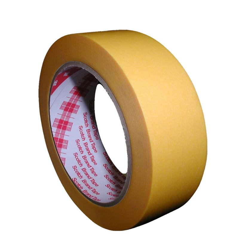 Pic_A:3M 244 SPEZIALABDECKBAND LACKIERBAND 30 X 50 m GOLD  1 ROLLE  2443050 2443050