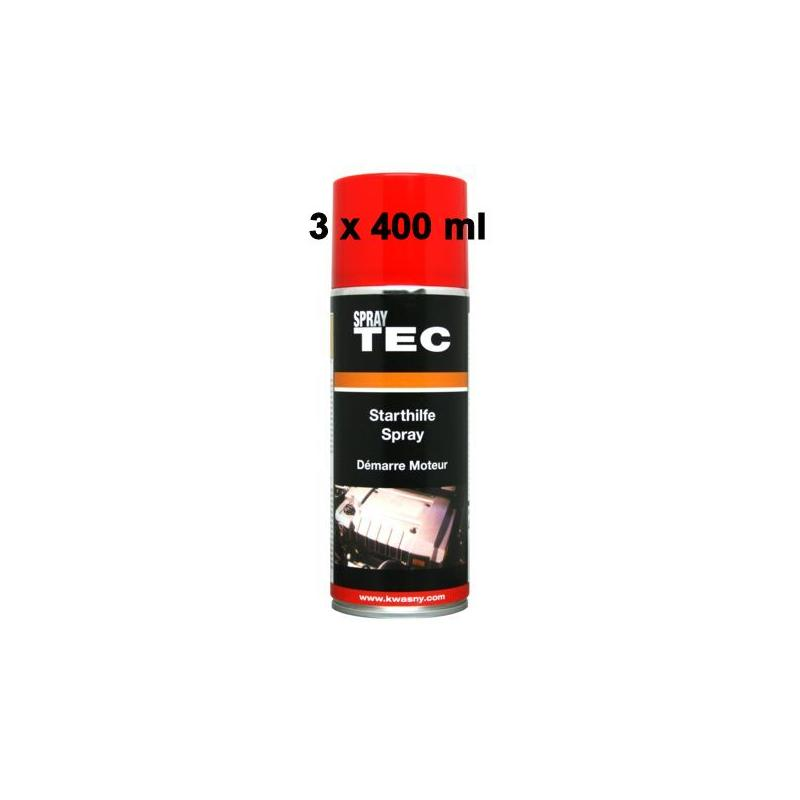 Pic_A:AUTO-K SPRAY TEC Starthilfe Spray 3 x 400 ml 235010/3 AK235010/3