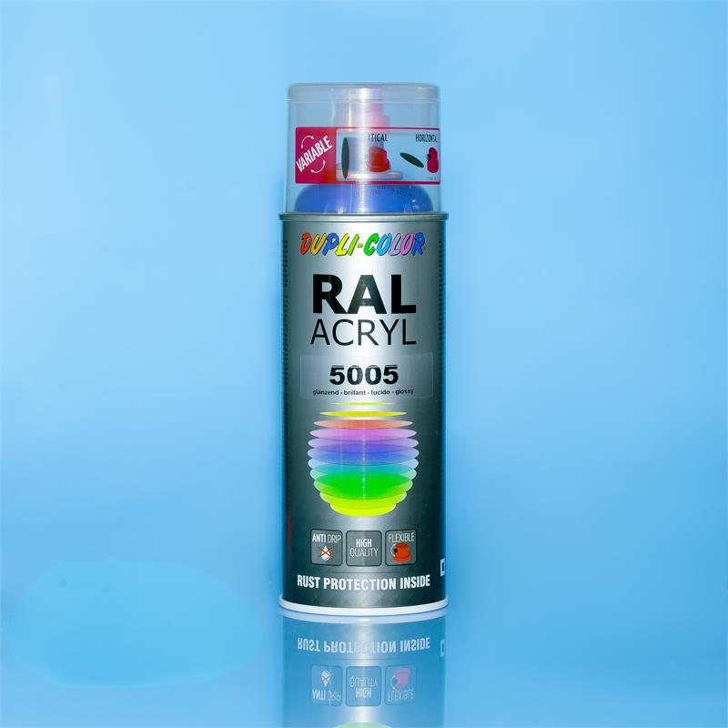 Pic_A:DUPLI-COLOR ACRYL SPRAY RAL 5005 signalblau glanz 400 ml *710216 710216
