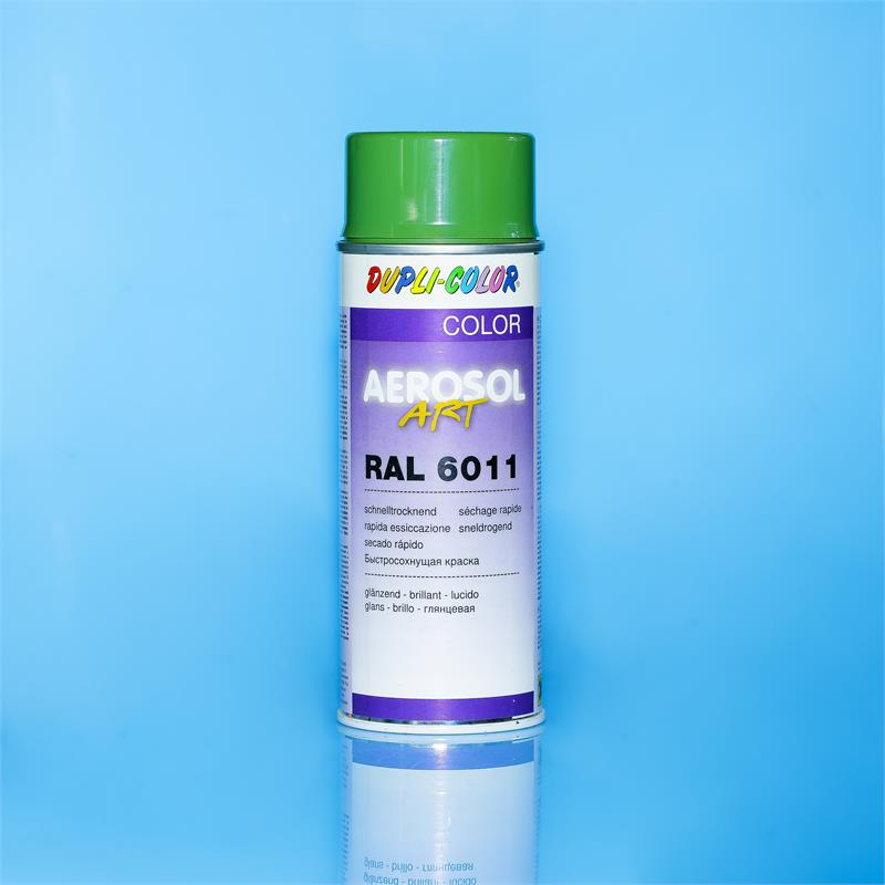 Pic_A:DUPLI-COLOR AEROSOL ART RAL 6011 glanz. 400 ml *741203 741203