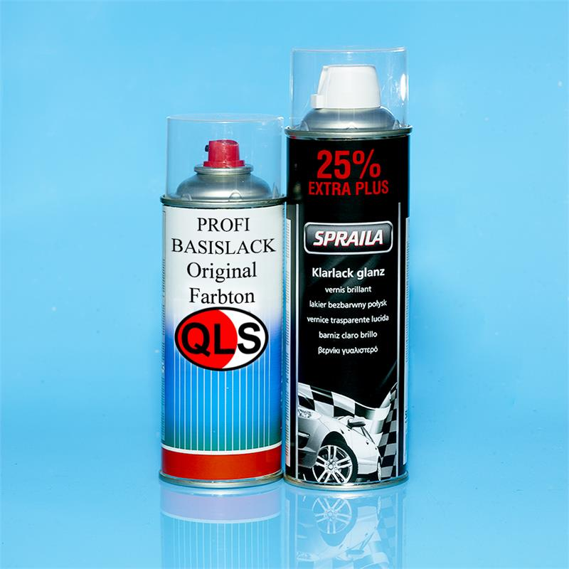 Pic_A:QLS Spray Set Met AUDI L8Z8 BRILLIANTSILBER MET 2007-2008 *55217/3 FLQ5810