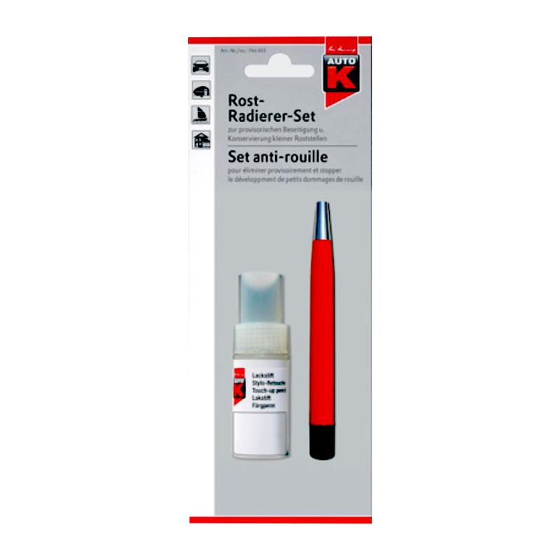 Pic_B:MOTIP Lackstift Set SMART 41863 PROFESSIONAL GREY 1999- *954735/10 2IN1MS5025