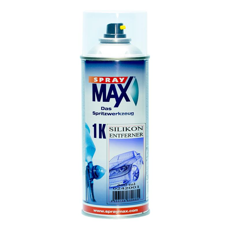Pic_A:Silikon Entferner transparent SprayMax 400ml 0242001 0242001